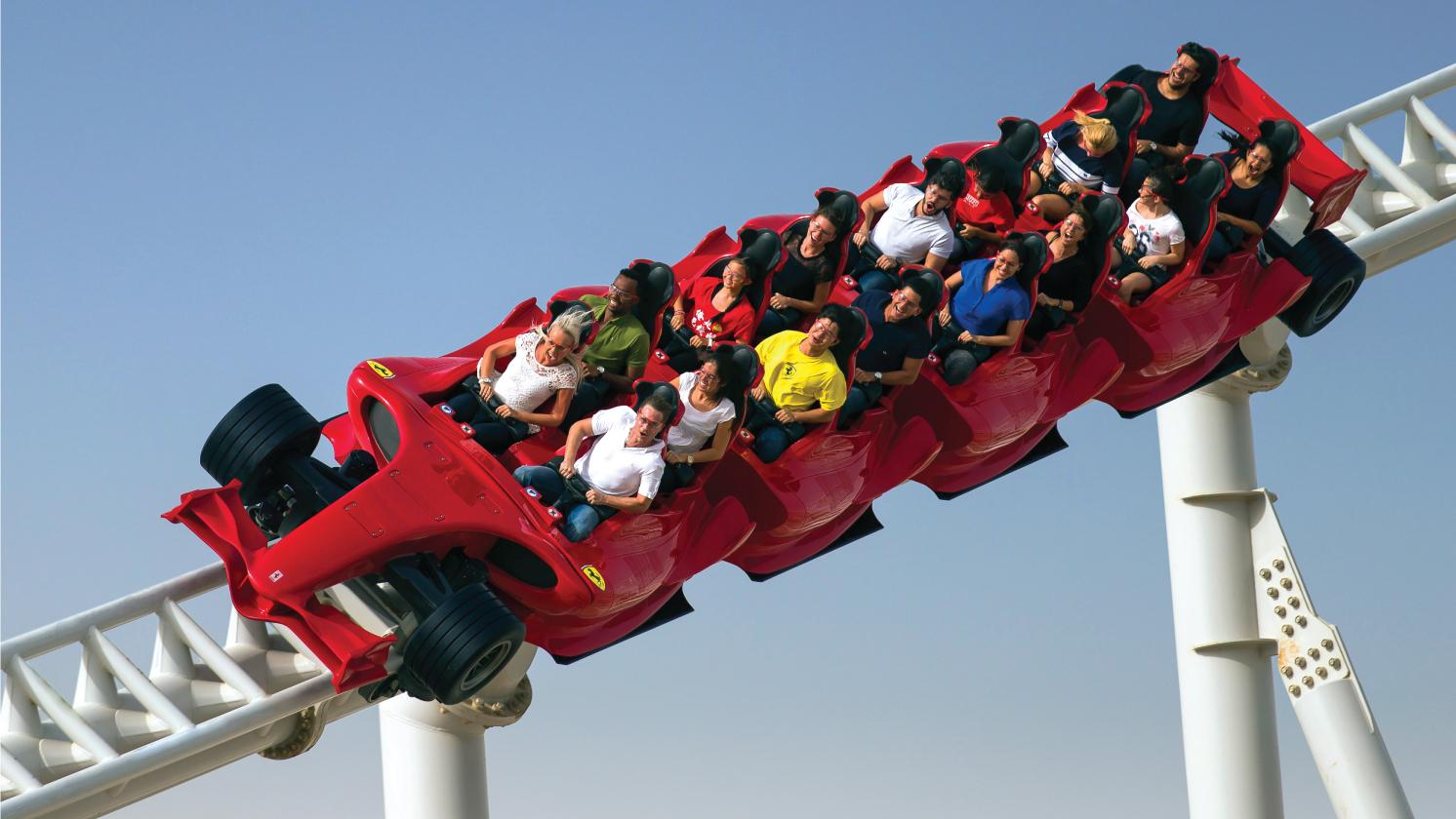 Rides and Attractions - Ferrari World Abu Dhabi