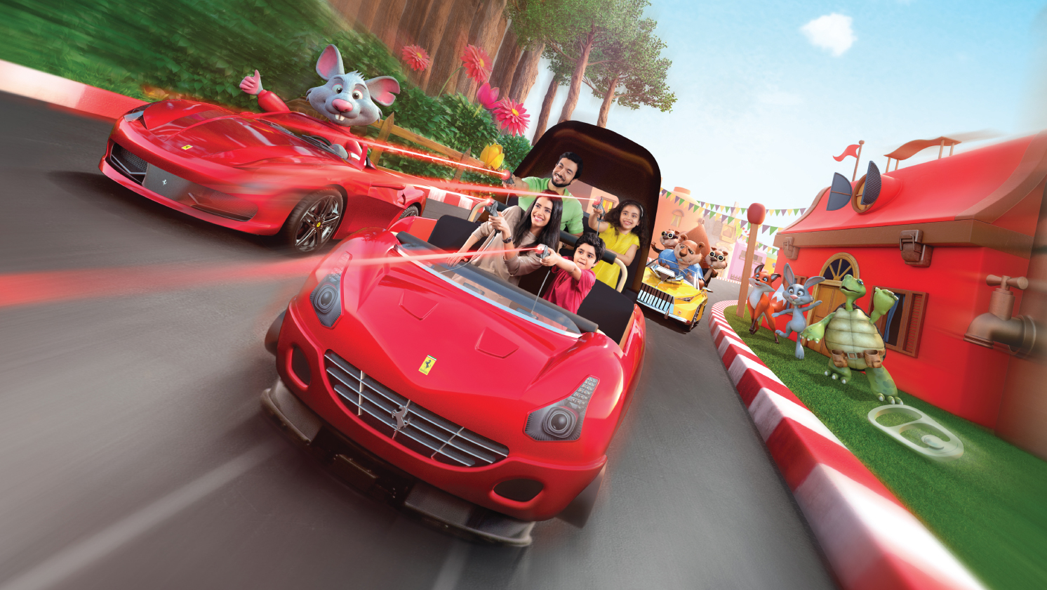 Theme Park Tickets, Add-ons, Packages and more | Ferrari World Abu Dhabi